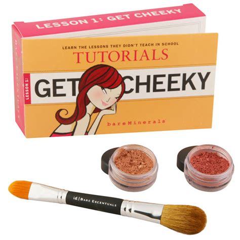 tutorial html kit bareminerals tutorial kit get cheeky 3 products free