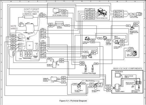 Ge Spacemaker Microwave Parts Diagram Bestmicrowave