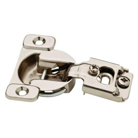 home depot cabinet hinge liberty 35 mm 105 degree 1 2 in overlay hinge 10 pack