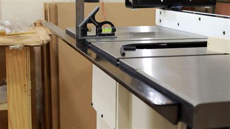 grizzly table saw fence upgrade grizzly g0715p hybrid table saw jays custom creations