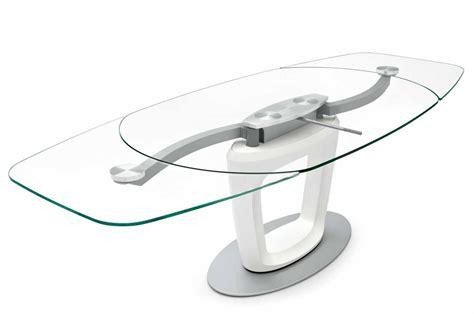 tavolo vetro allungabile calligaris tavoli allungabili calligaris orbital pininfarina