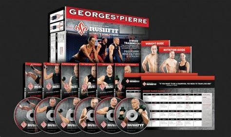 dvd review quot rushfit quot home fitness program from georges st
