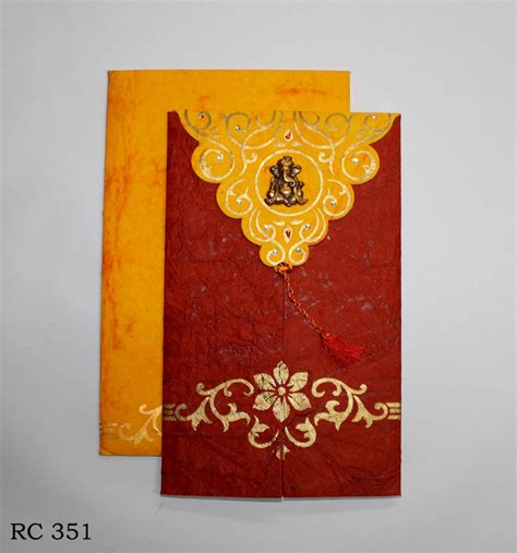 Handmade Paper Wedding Cards - handmade paper wedding cards patrika h h printers