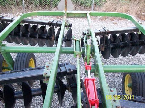 deere 215 offset disc yesterday s tractors