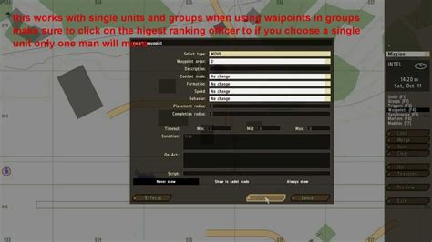 tutorial waypoints arma 2 editor tutorial waypoints and triggers part 1