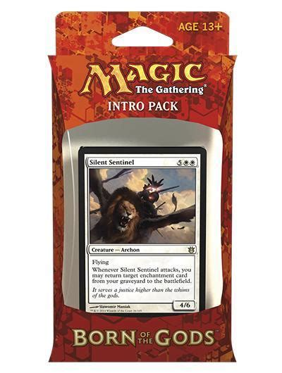 Intro Pack Born Of The Gods magic the gathering born of the gods gift of the gods intro pack sealed wizards of the coast