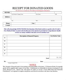receipt of goods template sle donation receipt 7 documents in pdf