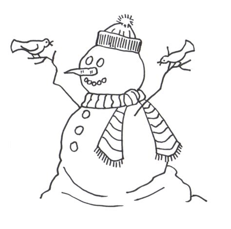 frosty the snowman coloring page az coloring pages