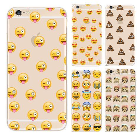 Smile Iphone 5 5g 5s Transparan Casing Ultra Slim emoji iphone cas promotion achetez des emoji iphone cas