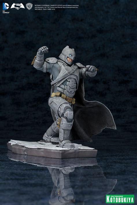 Miniatur Aquaman 006 Batman Vs Superman Of Justice Dc Comics kotobukiya batman v superman artfx statues the toyark news