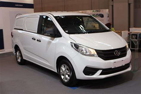 white g10 ldv g10 white at the cv show 2016 commercial vehicle