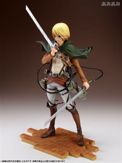 Armin Brave Act By Sentinel Attack On Titan attack on titan armin arlert 1 8 brave act sentinel