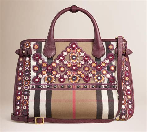 Bag Of The Week by Bag Of The Week Burberry Banner Bag With Mirror
