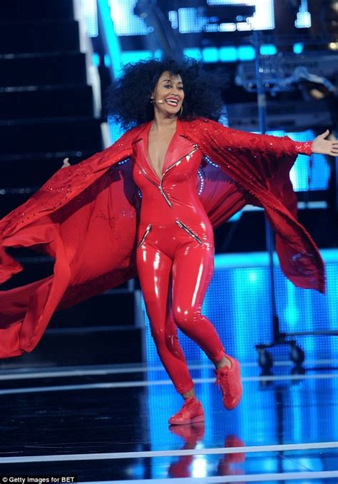 tracee ellis ross work rihanna tracee ellis ross dons red leather catsuit for black girls
