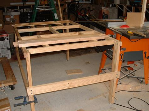 mobile woodworking bench multi function mobile workbench by routerisstillmyname