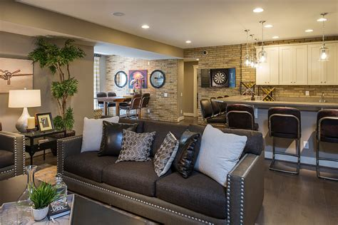 houses with finished basements small basement ideas