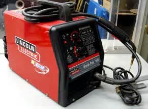 lincoln electric welder flux cored wire feed weld pak 100