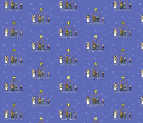pattern for fabric gift wrap nativity fabric and gift wrap fabric dreamoutloudart