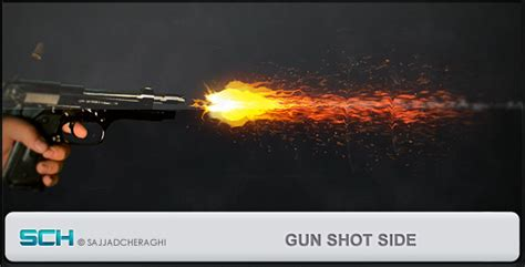 after effects free template bullet shoots 2 gun shot side after effects project files videohive