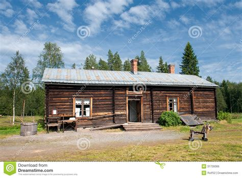 country side farm house old farmhouse in northern sweden editorial photo image 31739366