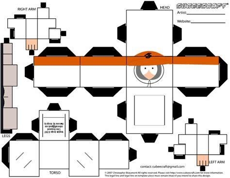 South Park Papercraft - sp papercraft kenny fingerbang by ludabo98 on deviantart