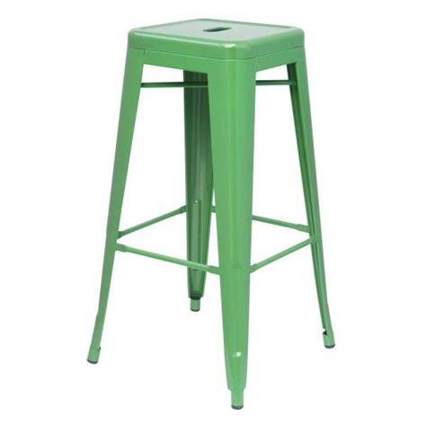 oxford metal counter stool green kitchen - Green Counter Stools