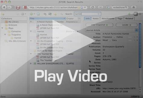 zotero guide tutorial zotero citation and research management tools