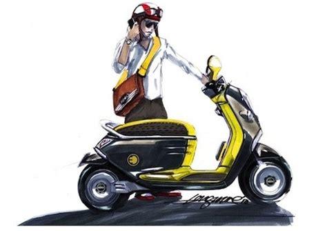 motosiklet tutkusu miniden yeni  concept scooter