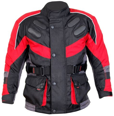 youth motorcycle jacket kids motorcycle motorbike motocross textile jacket