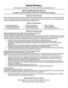Business Operations Analyst Sle Resume by Operations Analyst Resume Objective