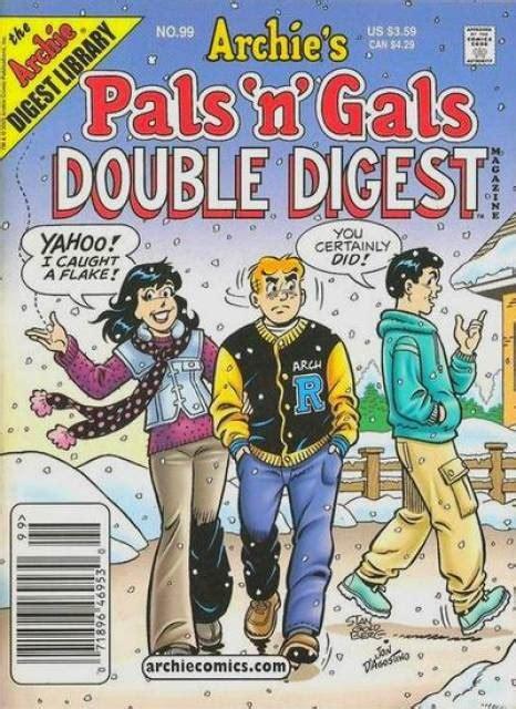 No 104 Pals N Gals Digest Magazine archie s pals n gals digest magazine 99 issue
