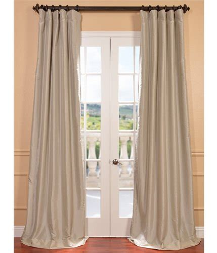taffeta silk curtains half price drapes ptch bo130907 96 blackout faux silk