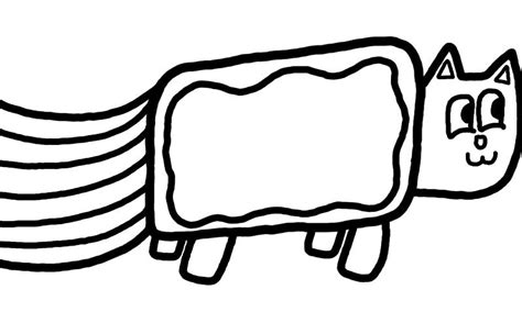 coloring pages of nyan cat nyan cat coloring pages 28 images how to draw nyan cat