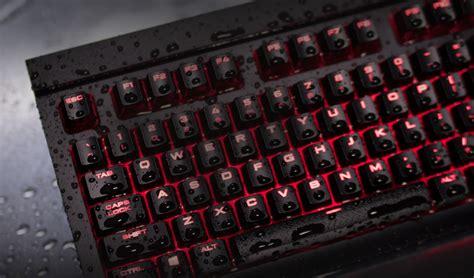 corsair  mechanical gaming keyboard  spill