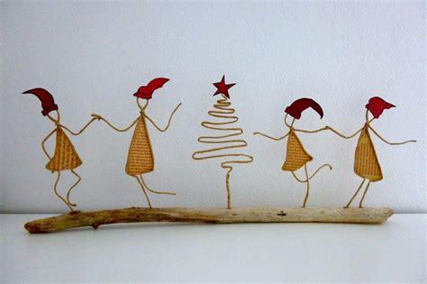 la ficelle et autres petits lutins de no 235 l figurines en ficelle et papier christmas parties christmas
