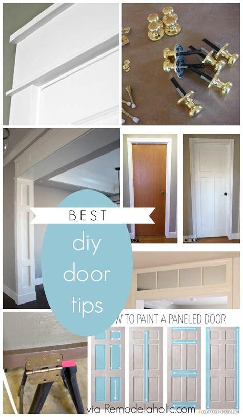 diy door frame remodelaholic best diy door tips installation framing