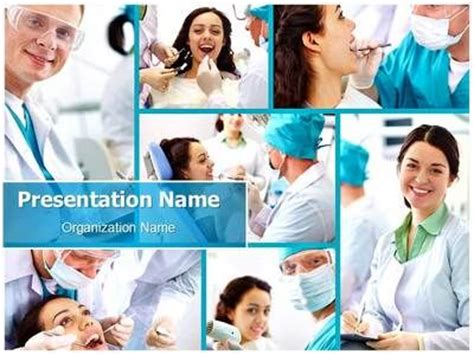 17 Best Images About Dental Powerpoint Templates Powerpoint Photo Collage Template