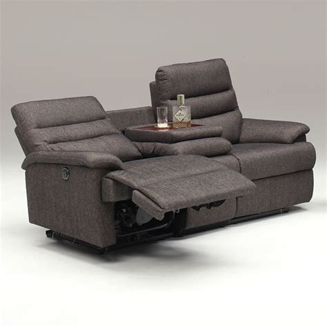 fabric electric recliner sofa waki int rakuten global market sofa recliner sofa 3 3 p