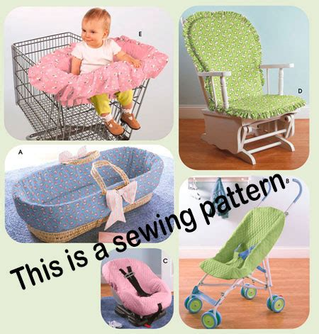car seat liner pattern simplicity sewing pattern 4636 baby stroller car seat