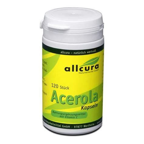 Acerola Cherry Scrub allcura acerola 570 mg capsules with acerola cherries