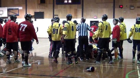hockey bench clearing brawls bench clearing ball hockey fights ball hockey brawls