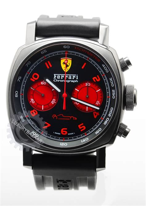 Ferrari Chronograph by Officine Panerai Ferrari Chronograph 45mm Dlc Fer 00038