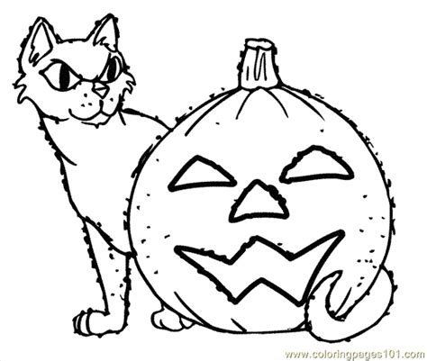 free coloring pages of halloween online