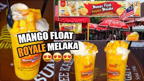 mango float royale melaka wajib  youtube