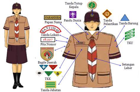 Baju Pramuka Penegak Putri No 13 media belajar pramuka