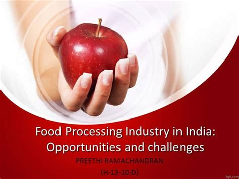 Food Processing Industry In India Authorstream Free Powerpoint Templates For Mac Food