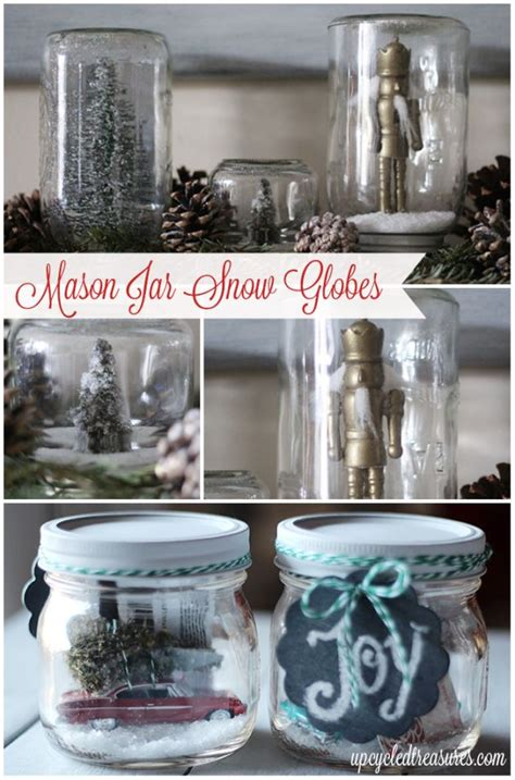 Mason Jar Snow Globe Gift Card - 9 best images about christmas 14 decor on pinterest jars mantels and christmas