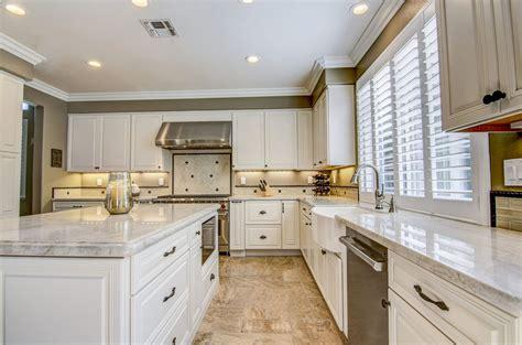 Taj Mahal Granite Kitchen by Kitchen Countertops Stokes Granite