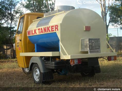 milk tanker design chintamani motors sangli