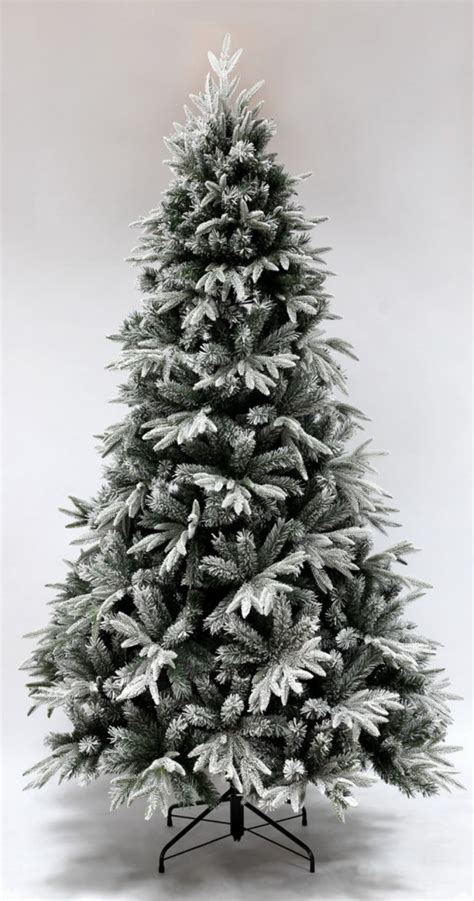 the 7ft pre lit snowy alpine tree warm white